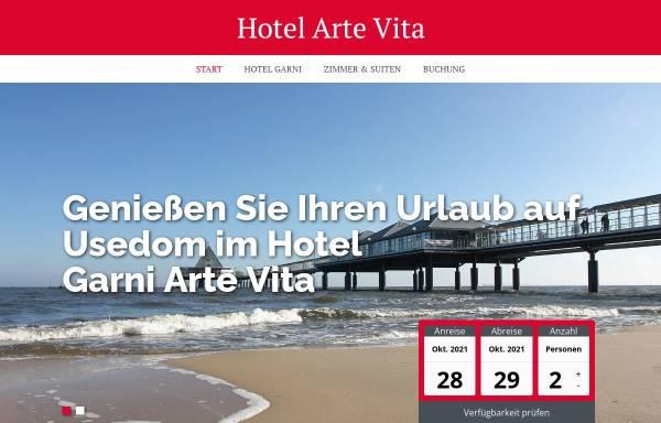 Vorschau von www.hotel-arte-vita.de, Hotel Arte Vita