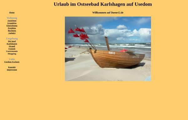 Vorschau von duene12.de, Ferienwohnung Gattinger