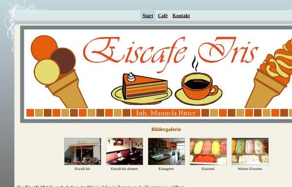Vorschau von www.eiscafe-iris-koserow.de, Eiscafe Iris
