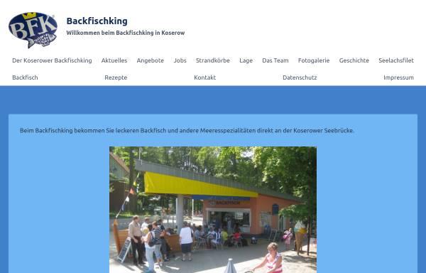 Vorschau von www.backfischking.de, Backfischking