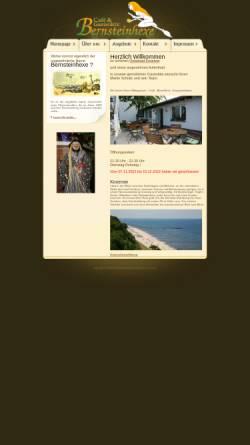 Vorschau der mobilen Webseite www.bernsteinhexe.de, Café & Gaststätte Bernsteinhexe