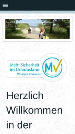 Vorschau der mobilen Webseite www.sonnenfeeling.de, Ferienwohnung Dietz
