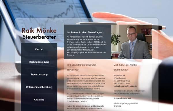 Kanzlei Raik Mönke: Wirtschaft, Pasewalk steuerberater-moenke.de