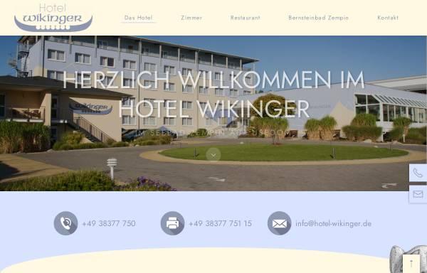 Vorschau von www.hotel-wikinger.de, Hotel Wikinger und Restaurant Walhall