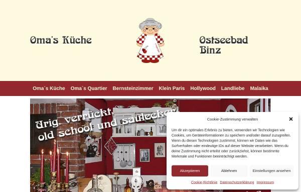 Schön Omas Küche Binz Bilder - Innenarchitektur Kollektion ...