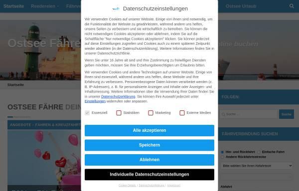 Vorschau von ostseefaehren.com, Michael Wodetzki