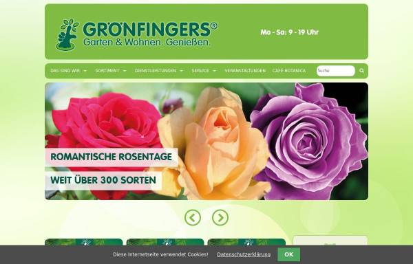 Vorschau von www.groenfingers.de, Grönfingers Rostocks Gartenfachmarkt GmbH