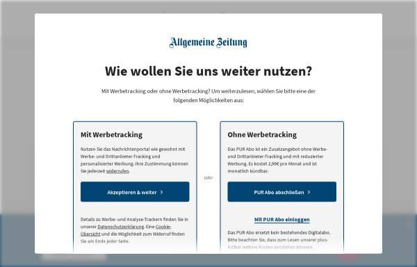 Vorschau von www.allgemeine-zeitung.de, Allgemeine Zeitung