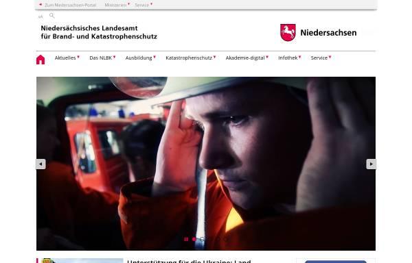 Vorschau von www.feuerwehrschulen.niedersachsen.de, Nds. Akademie für Brand- und Katastrophenschutz
