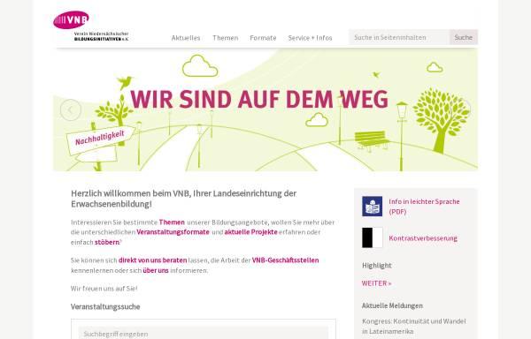 Vorschau von www.vnb.de, Verein Niedersächsicher Bildungsinitiativen e.V.