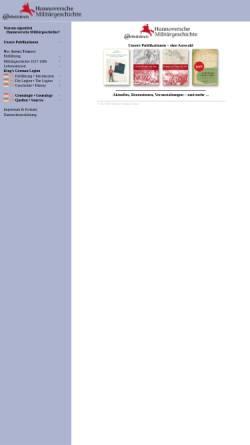 Vorschau der mobilen Webseite www.kgl.de, Arbeitskreis Hannoversche Militärgeschichte
