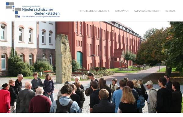 Vorschau von www.gedenkstaetten-niedersachsen.de, Interessengemeinschaft niedersächsischer Gedenkstätten und Initiativen zur Erinnerung an die NS-Verbrechen