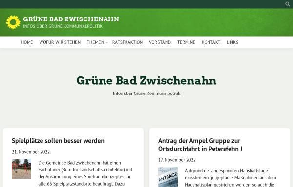 Vorschau von gruene-zwischenahn.de, Bündnis90/Die Grünen