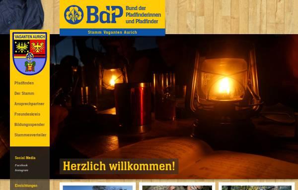 Vorschau von www.pfadfinder-aurich.de, BdP Stamm Vaganten Aurich