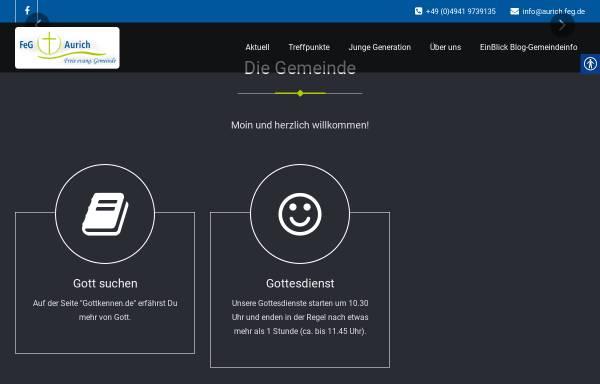 Vorschau von aurich.feg.de, FeG Aurich