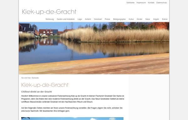Vorschau von www.kiek-up-de-gracht.de, Kiek-up-de-Gracht