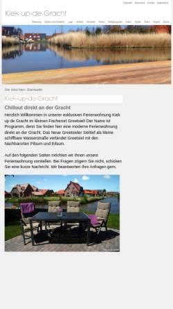Vorschau der mobilen Webseite www.kiek-up-de-gracht.de, Kiek-up-de-Gracht