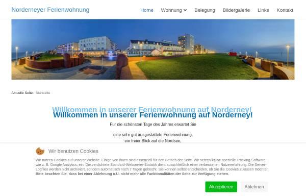 Vorschau von www.norderneyer-ferienwohnung.de, Ferienwohnung Thiemann
