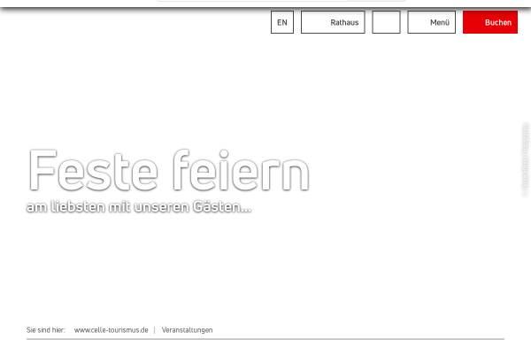 Vorschau von www.celle-tourismus.de, Celler Weihnachtsmarkt - Celle Tourismus und Marketing GmbH