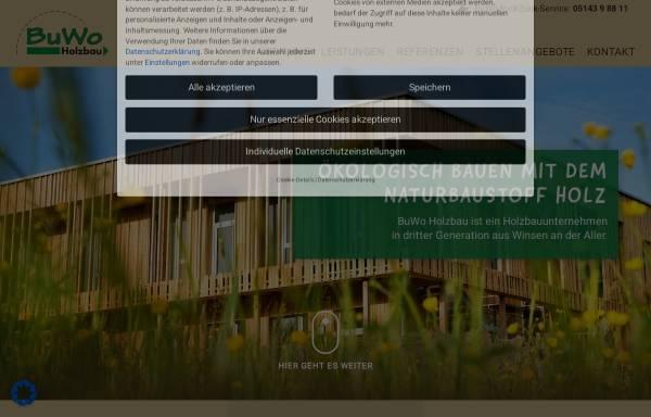 Vorschau von www.buwo-holzbau.de, Bussmann & Wolters Holzbau GmbH & Co. KG