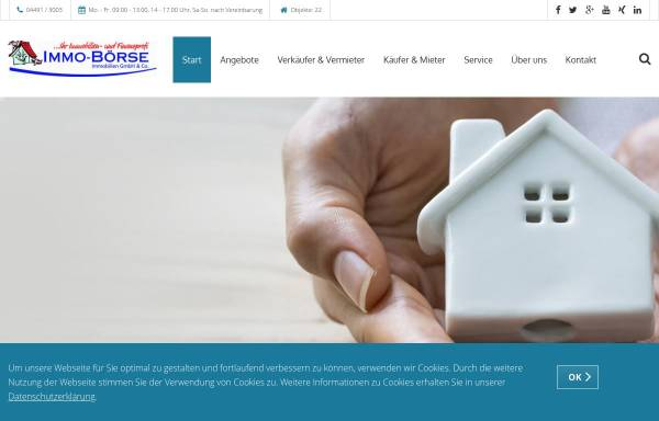 Vorschau von www.immo-boerse.org, Immo-Börse