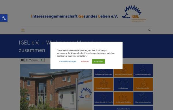Vorschau von www.igel-barnstorf.de, Gesundheitsladen Igel