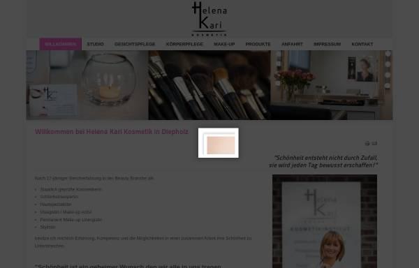 Vorschau von www.hkkosmetik.de, Helena Kari - Kosmetik