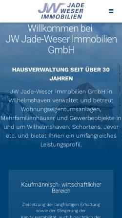 Vorschau der mobilen Webseite www.wecomax-immobilien.de, Wecomax Immobilien
