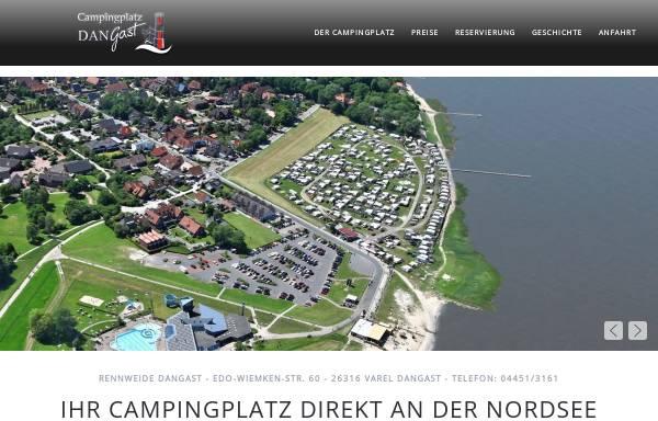 Vorschau von www.rennweide.de, Campingplatz Rennweide Dangast