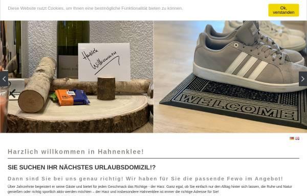 Vorschau von ferienwohnungen-koehnke.de, Ferienwohnungen Köhnke - Inh. André Köhnke