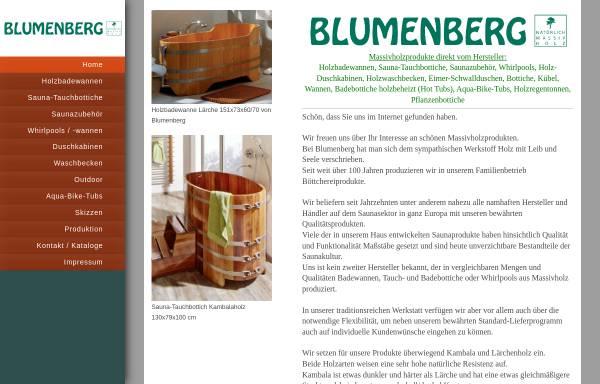 Vorschau von www.blumenberg-gmbh.de, Blumenberg GmbH
