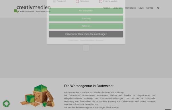 Vorschau von www.creativmedien24.de, Creativ Medien Osburg
