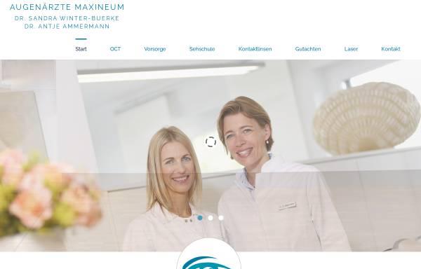Vorschau von www.augenarzt-goettingen.info, Augenärzte Maxineum
