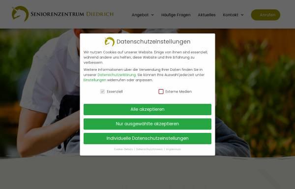 Vorschau von www.seniorenheim-diedrich.de, Seniorenheim Diedrich