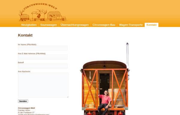 Vorschau von circuswagenwelt.de, Circuswagen-Welt