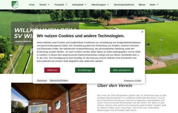 Vorschau von www.sv-w.de, Sportverein Wietmarschen e.V. 1929
