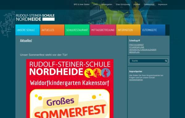 Vorschau von www.rss-nordheide.de, Rudolf-Steiner-Schule Nordheide
