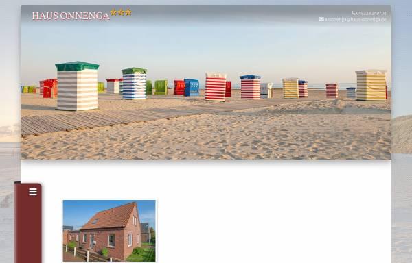 Vorschau von www.haus-onnenga.de, Ferienwohnung Haus Onnenga