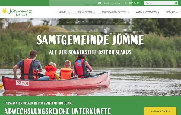Vorschau von www.detern.de, Tourist Information Detern