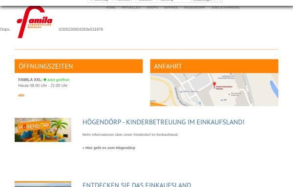 Vorschau von www.einkaufsland.de, Famila Einkaufsland Wechloy