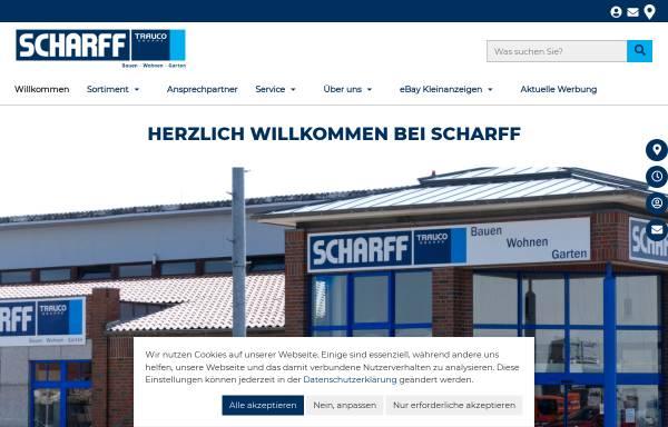 Vorschau von www.scharff-baustoffe.de, J.G. Scharff GmbH & Co.