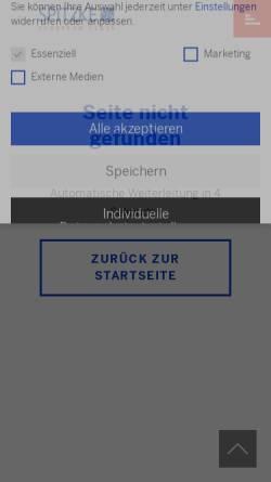 Vorschau der mobilen Webseite www.spitzke.de, Spitzke-Schomburg Spezialtiefbau GmbH