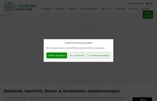 L. Stelling GmbH: Wirtschaft, Ganderkesee ls-holz.de