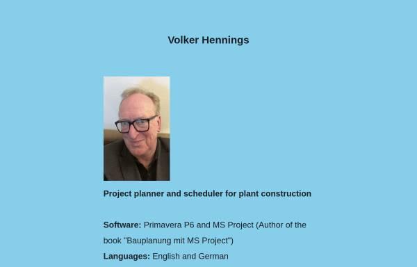 Vorschau von volkerhennings.com, Volker Hennings