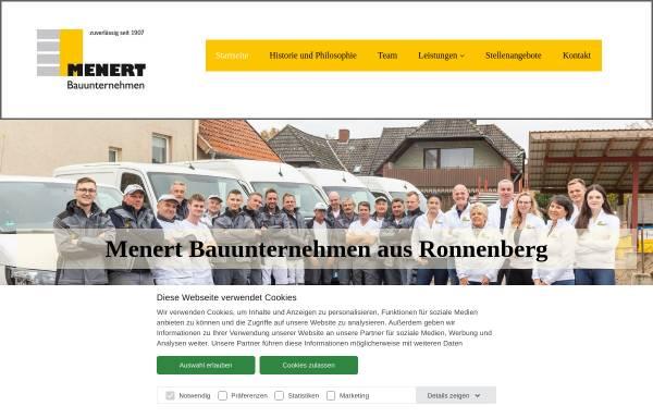 Vorschau von www.menert.de, Menert Bauunternehmen GmbH