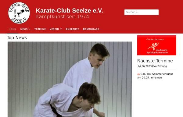 Vorschau von www.karate-club-seelze.de, Karate - Club Seelze e.V.
