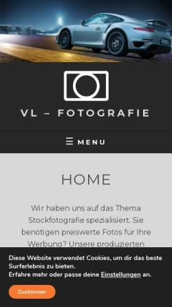 Vorschau der mobilen Webseite www.wedemark-foto.de, Olaf von Lieres Fotostudio