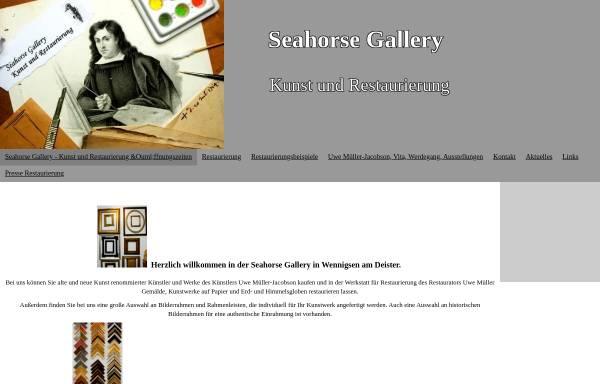 Vorschau von www.kunstundrestaurierung.de, Seahorse Gallery - Uwe Müller und Dagmar Jung