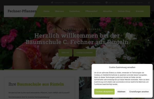 Vorschau von fechner-pflanzen.de, Caroline Fechner - Pflanzenhandel
