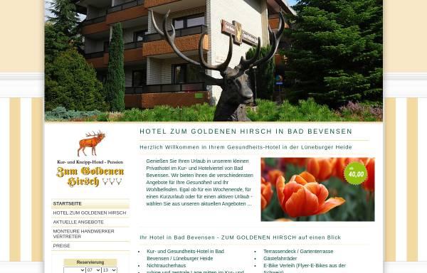 Vorschau von www.zum-goldenen-hirsch.de, Hotel Zum Goldenen Hirsch - Gerd Eichelmann Hotel-Management e.K.